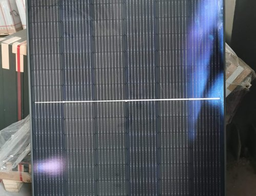 All Black Half cell solar panel 360W 460W